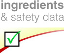 Ingredients and safety data